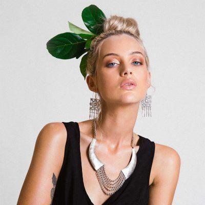 Model wearing Boho Luxe Jewellery
