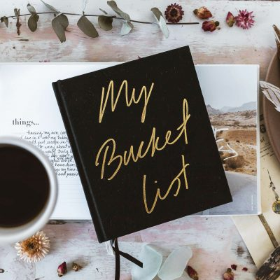 AXEL & ASH // My Bucketlist Creative Journal