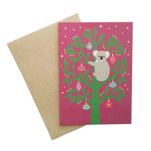 Christmas Koala Card front