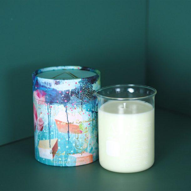 Sea of Sage Beaker Candle