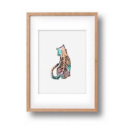 OKAY LUNA // Baby Tiger Print