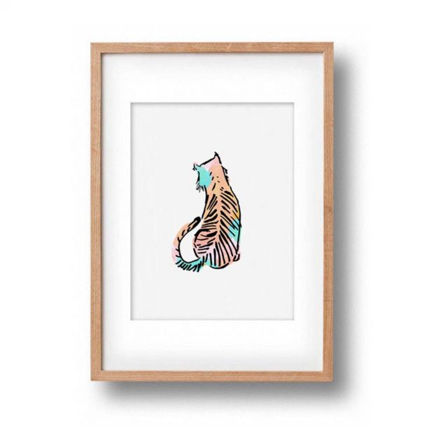 OKAY LUNA Baby Tiger Print