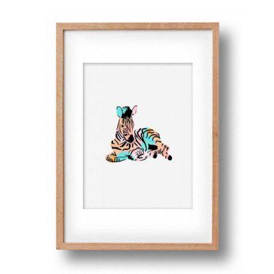 OKAY LUNA // Baby Zebra Print