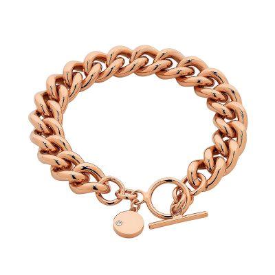 Rose Gold Dahlia Bracelet