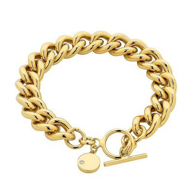 Gold Dahlia Bracelet