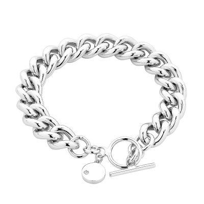 Silver Dahlia Bracelet
