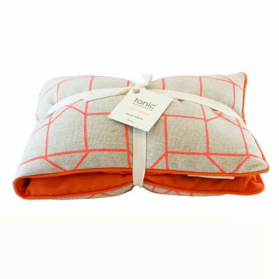 Orange GEO Heat Pillow