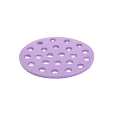 Confetti purple Coaster