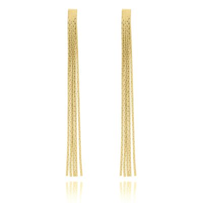 Gold Lucky Chance Earrings