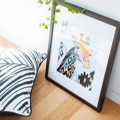 OKAY LUNA // A3 Giraffe Print