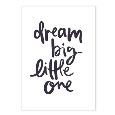 EMMA KATE CO. // Dream Big Little One Print
