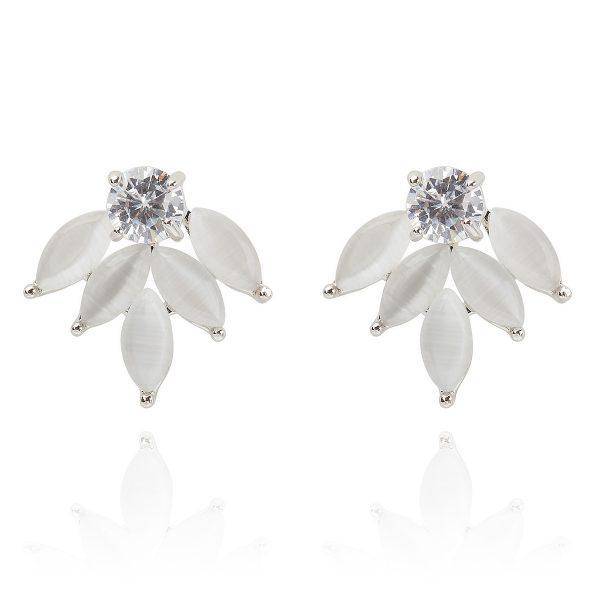 Silver Willow Earrings