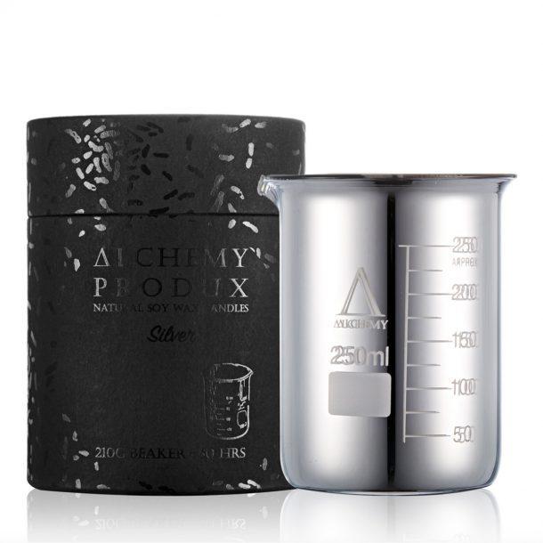Alchemy Produx Silver Beaker Candle