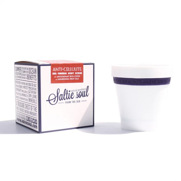Anti-Cellulite Coffee Scrub with packaging