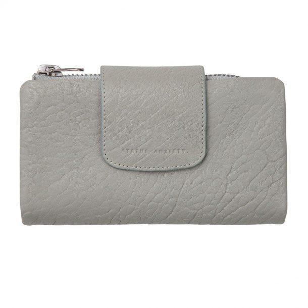 Status Anxiety Light Grey Fallen Wallet