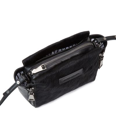 Status Anxiety Black Fur Ascendants Bag
