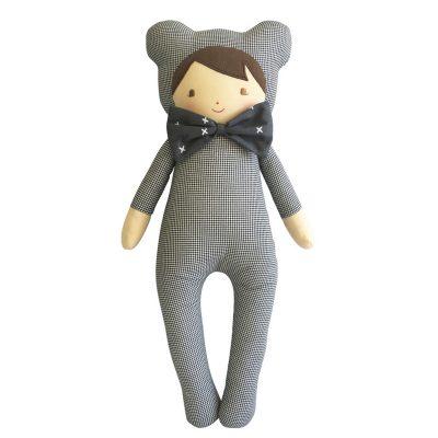 ALIMROSE // Baby in Bear Suit Doll