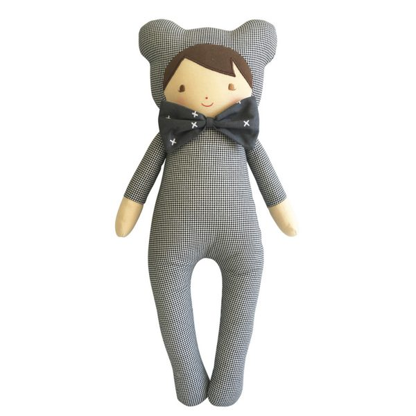 Baby in Bear Suit Doll