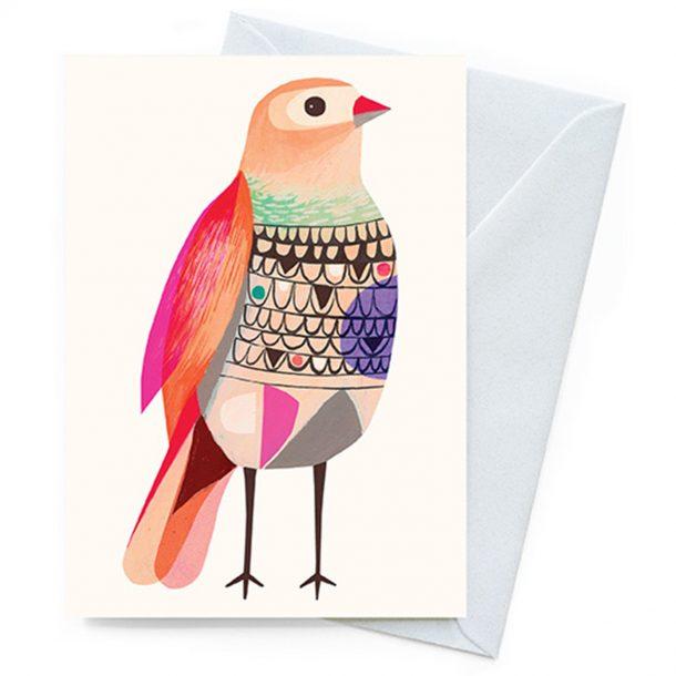 Beautiful Firetail Inaluxe Card