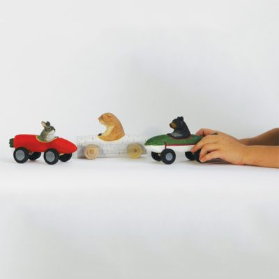 DOWN TO THE WOODS Racer toys