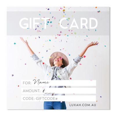 LUXAH Gift Voucher! CONFETTI