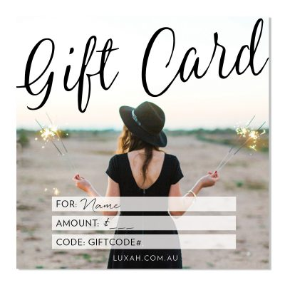 LUXAH Gift Voucher! SPARKLERS