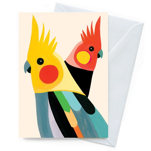 Cockatiels Inaluxe Card