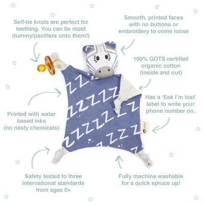 KIPPIN // Bam Kippin Organic Cuddle Blankie