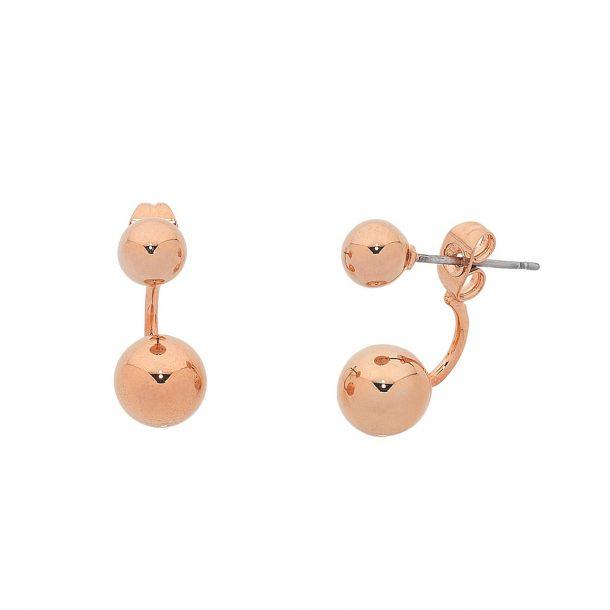 Rose Gold Dame Earrings
