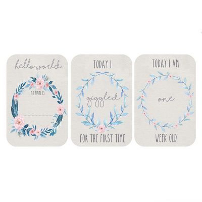 Wildflower Milestone Cards