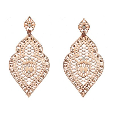 LIBERTE Freida Earrings Rose Gold