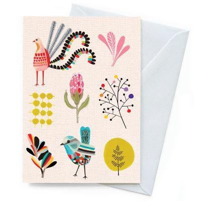 Garden Party Inaluxe Card