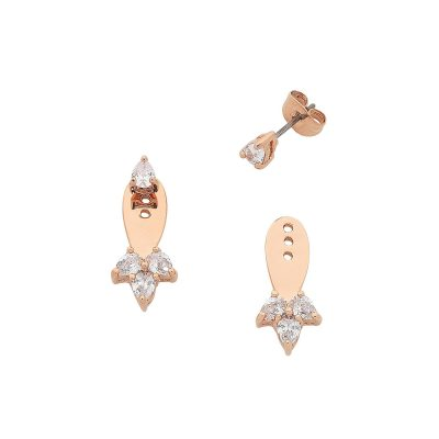 Rose Gold Livi Earrings