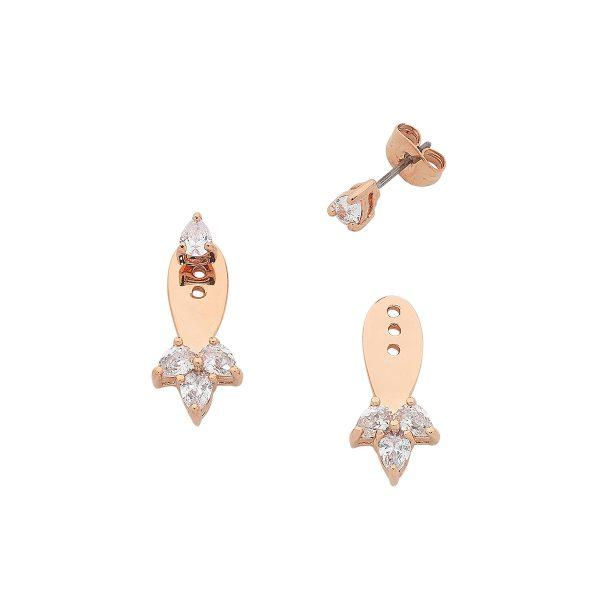 Rose Gold Livi Earrings