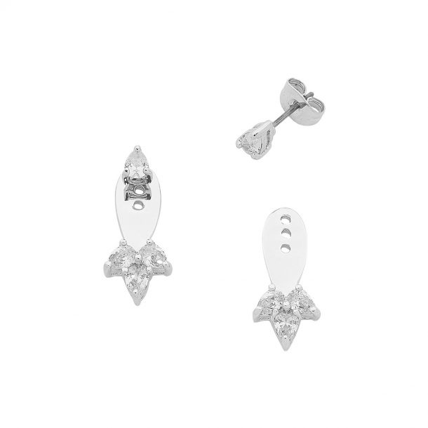 Silver Livi Earrings