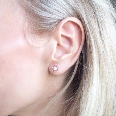 Lotus Flower Earrings