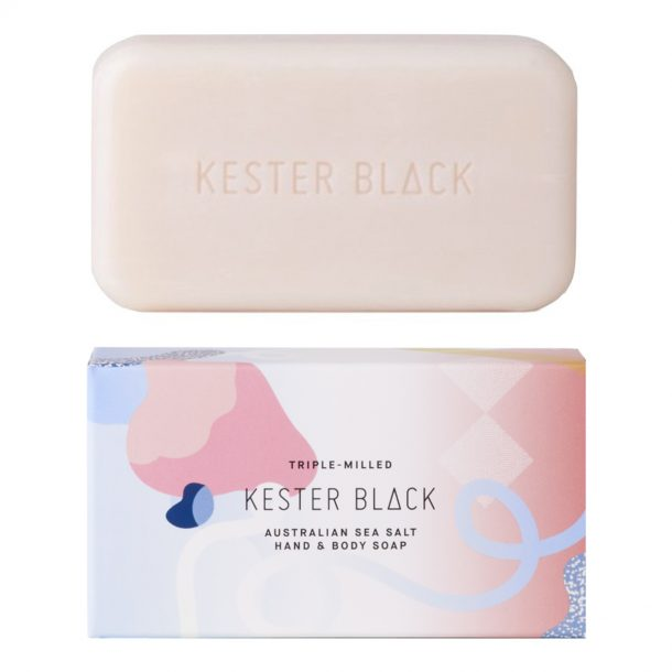 KESTER BLACK Australian Sea Salt Hand and Body Soap