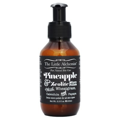 THE LITTLE ALCHEMIST // Pineapple and Zeolite Micro Polish 100ml