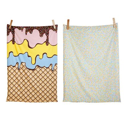 SACK ME! // Triple Sundae Reversible Quilt Cover