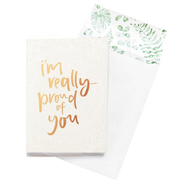 EMMA KATE CO. I'm Really Proud Of You Greeting Card