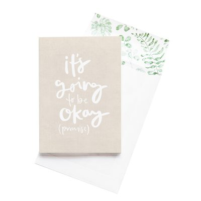 EMMA KATE CO. // It's Going To Be Okay Greeting Card