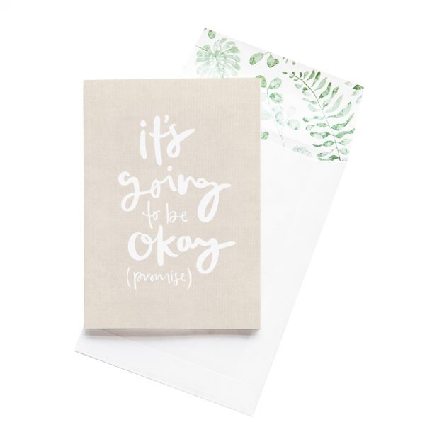 EMMA KATE CO. It's Going To Be Okay Greeting Card