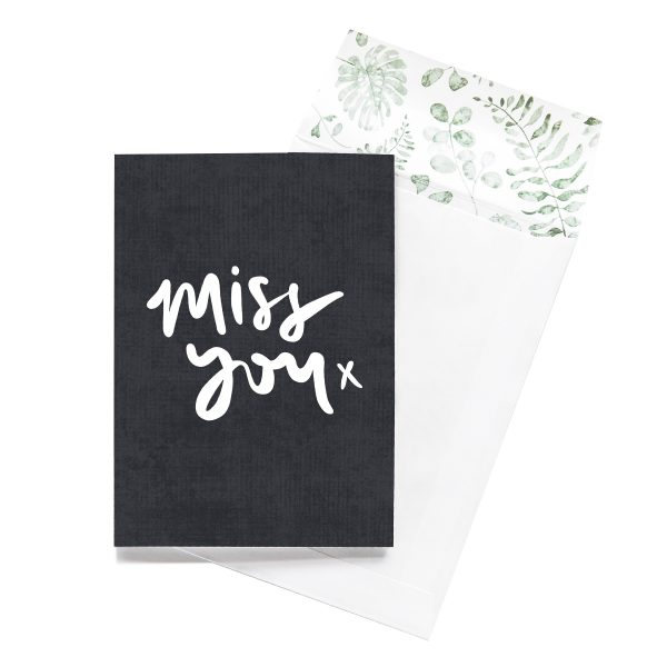 EMMA KATE CO. Miss You Greeting Card