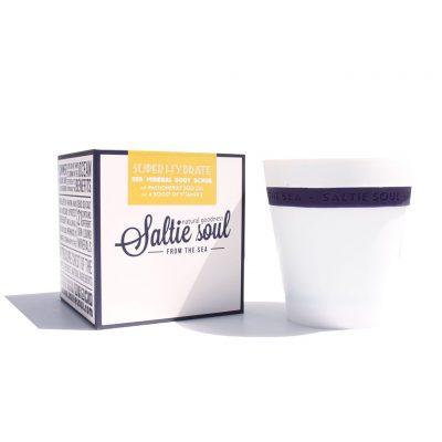 SALTIE SOUL // Super Hydrate Passionfruit Sea Scrub