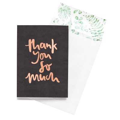 EMMA KATE CO. // Thank You So Much Greeting Card