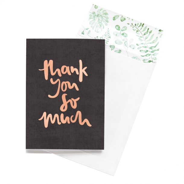 EMMA KATE CO. Thank You So Much Greeting Card