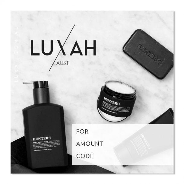 LUXAH Gift Voucher! MENS