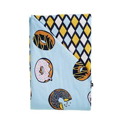 SACK ME! // Krispy Dreme Reversible Quilt Cover