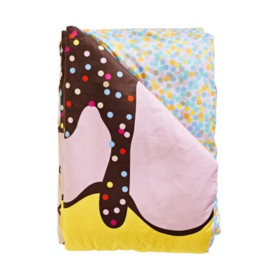 SACK ME! Triple Sundae Reversible Quilt Cover