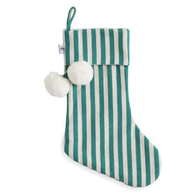 Classic Green Christmas Stocking